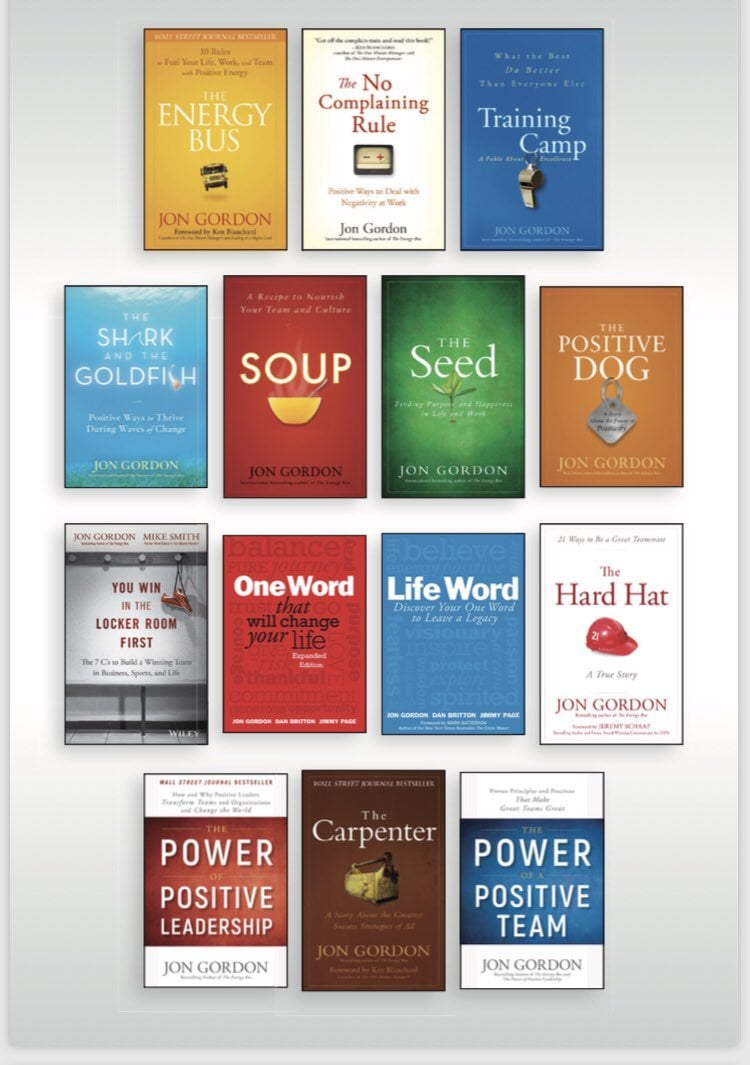 Books by Jon Gordon